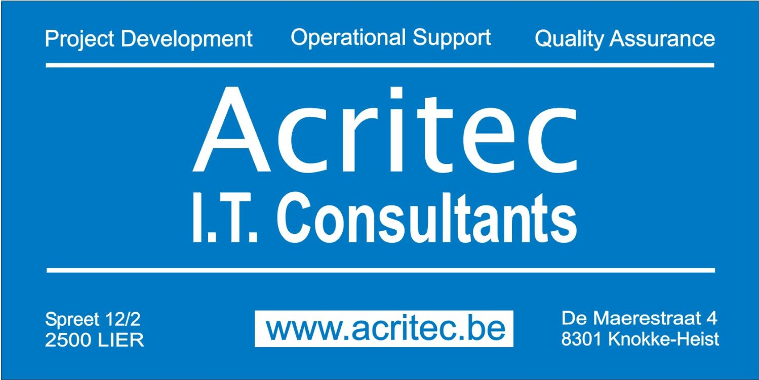 Acritec General Business card